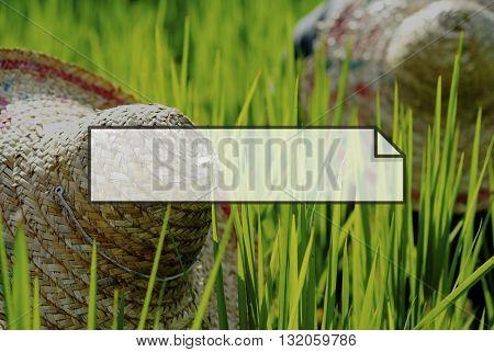 Natural Outdoor Environment Frame Graphic Concept