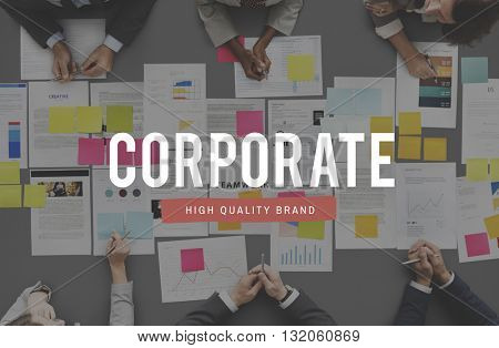 Corporate Business Office Place of Work Concept