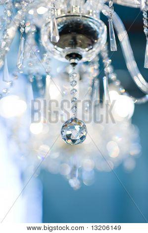 Jahrgang Kristall Lampe