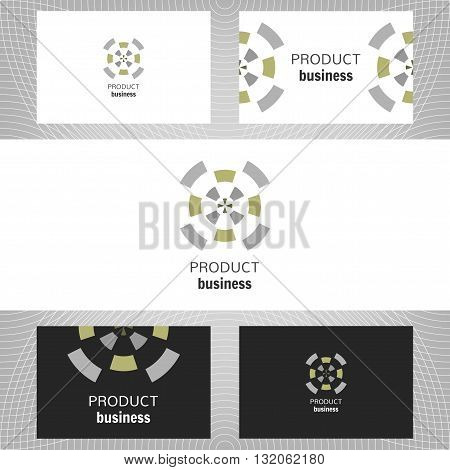 Business abstract logo, icon for company. Graphic design editable. Vector illustration