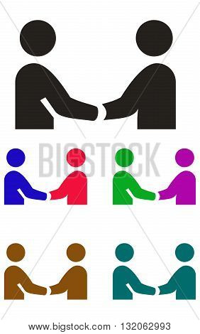 Handshake Icon handshake people two people business