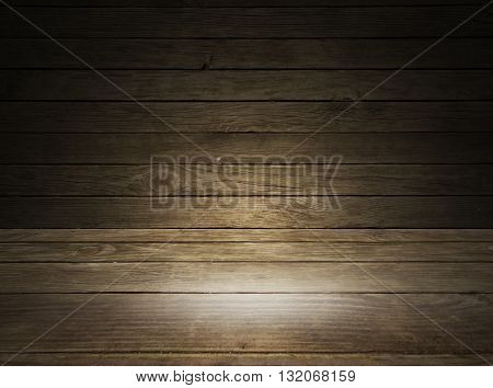 Magnificent colored wooden panel lighting texture background