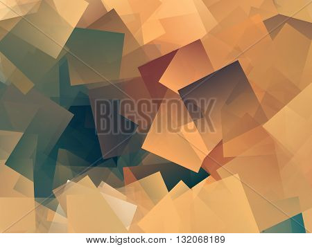 Magnificent colored abstract illustration art finished texture background
