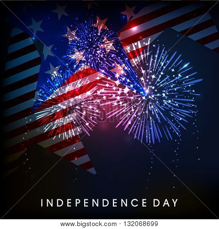4th of July American Independence Day background.