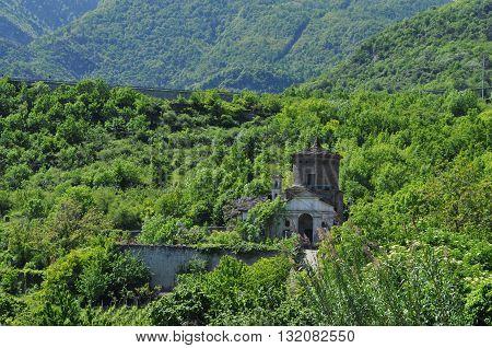 Madonna Delle Grazie Church In Susa