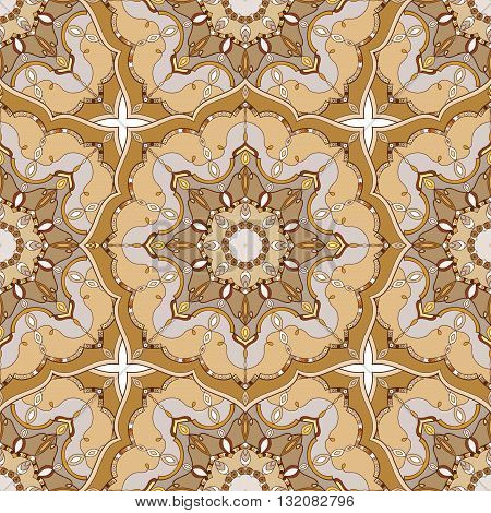 Seamless pattern.Ornamental background for cards, invitations, web pages. Islam, Arabic, Indian, turkish, pakistan, chinese, ottoman motifs.