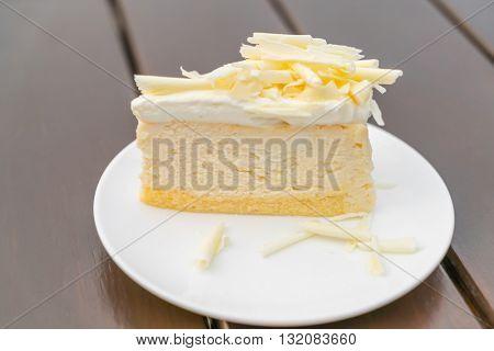 Slice of  Cheesecake