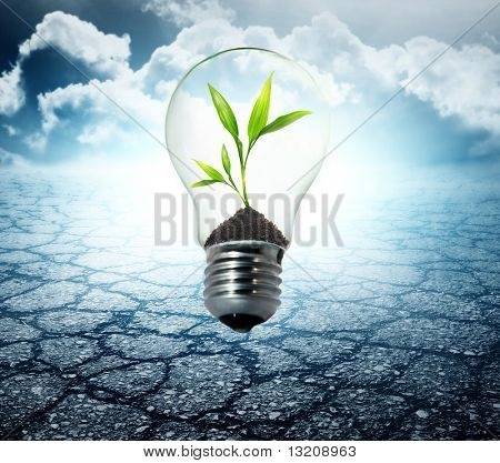 Environment friendly bulb