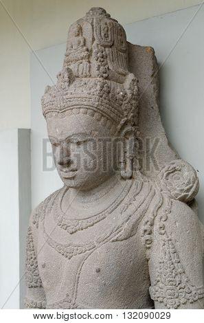 Head of The Avalokitesvara Statue 8th - 10th century