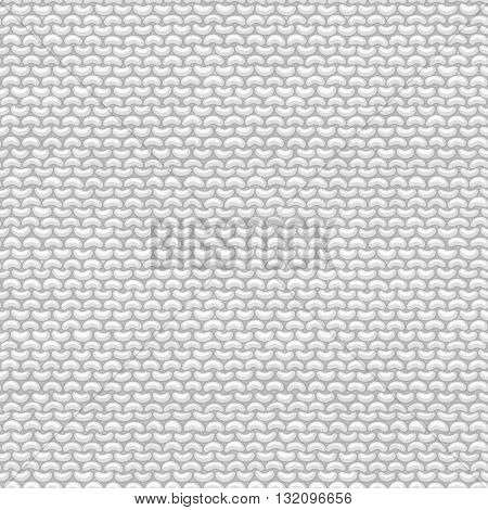 Stockinette stitch reverse side. Vector high detailed stitches. Boundless background can be used for web page backgrounds wallpapers wrapping papers invitations.