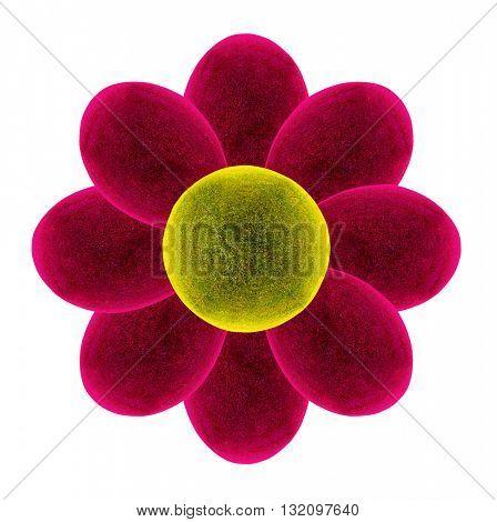 Fantastic Flower. 3D illustration