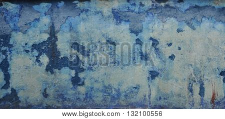 background with peeling blue paint for the design