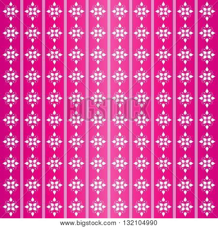 Abstract floral pattern. Pink pattern with flowers. Floral background.