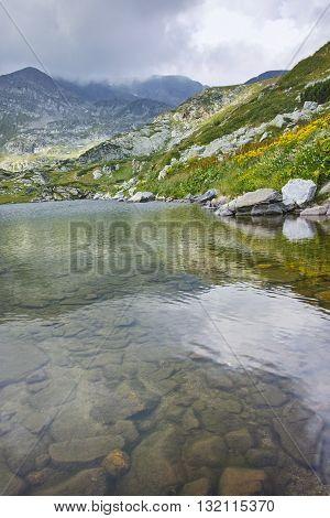 Amazing view of The Trefoil, Rila Mountain, The Seven Rila Lakes, Bulgaria