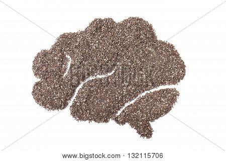 Chia Seeds Or Salvia Hispanica