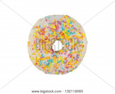Donuts In White Glaze
