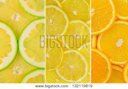 Fruit Mix Of Sweetie Fruit, Lemon And Orange