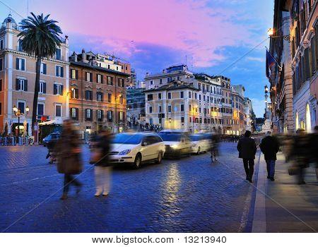 Rome, Italy (Piazza di Spagna)