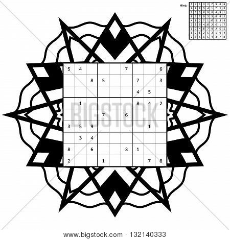 Number Place Puzzle