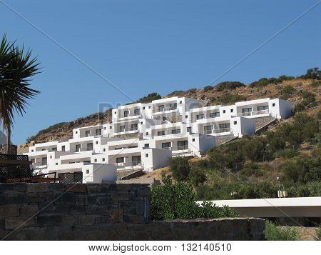 Apartments Located on the Slope, Greece, Crete, Agios Nikolaos / Luxury Holiday Apartments in Agios Nikolaos on Crete Island