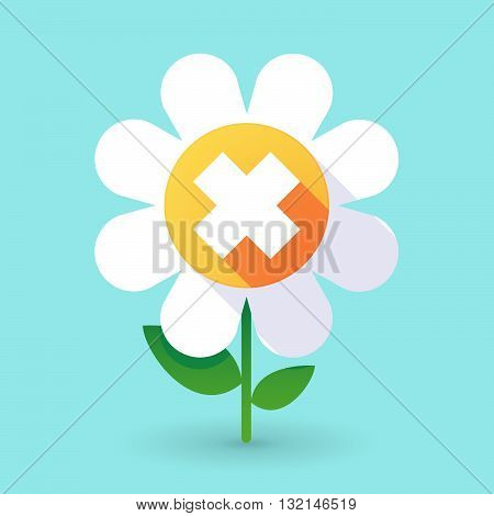 Vector Flower With An Irritating Substance Sign