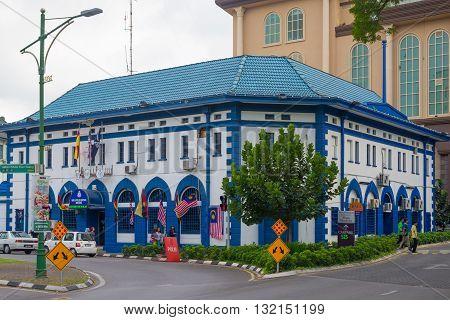 Cityscape Of Kuching, West Sarawak, Borneo, Malaysia
