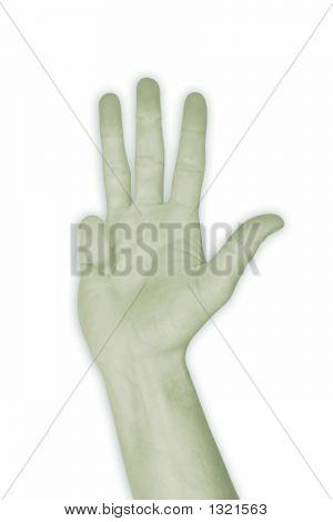 Hand Nr. 4 – Four