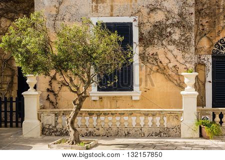 The Beautiful Architecture Of The Medieval City Mdina.