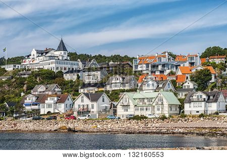Molle is a well known and popular seaside resort in Sweden and is located on the top of the Kullen Peninsula.