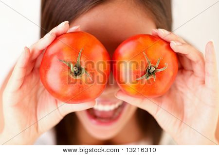 Healthy People: Tomato Woman Fun
