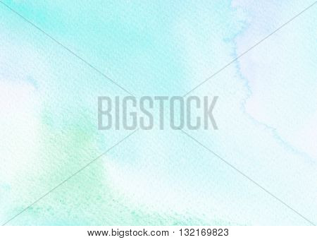 faded green light tones abstract watercolor background