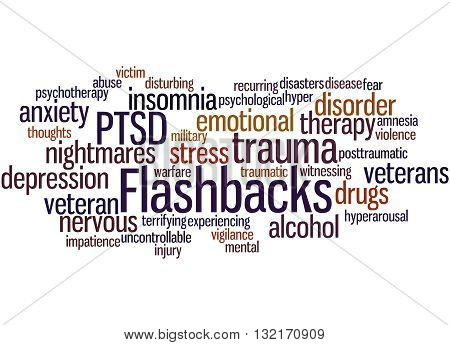 Flashbacks, Word Cloud Concept