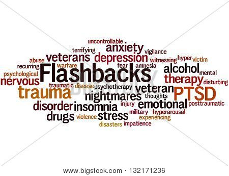 Flashbacks, Word Cloud Concept 9