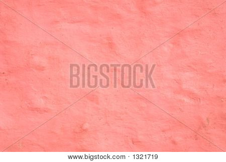 Pink Wall Coating Background.