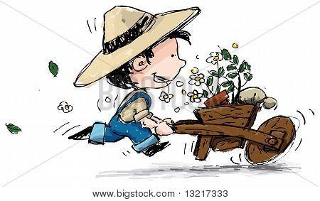 Farm Boy Gardener