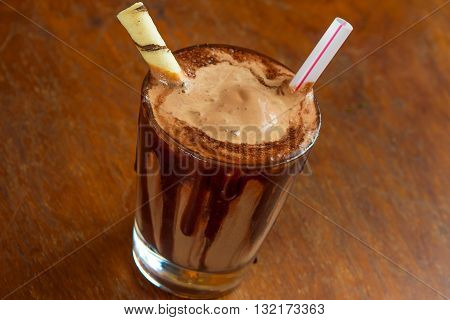 Chocolate Milkshake Dessert