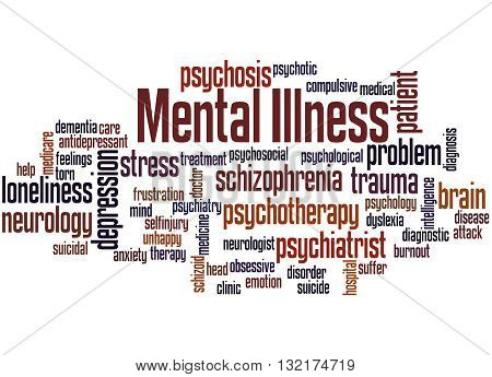 Mental Illness, Word Cloud Concept 3