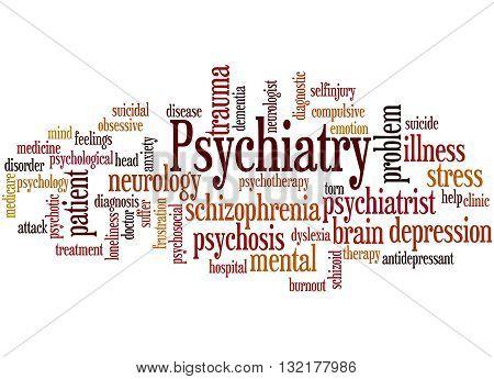 Psychiatry, Word Cloud Concept 5