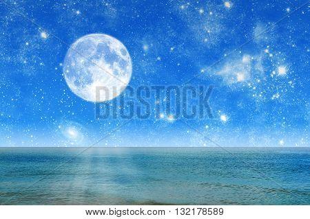 Beautiful Night Landscape Night Sea