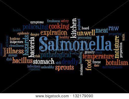 Salmonella, Word Cloud Concept 3