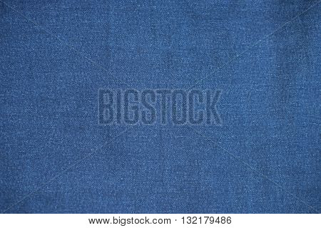 deep blue jeans background texture fabric pattern