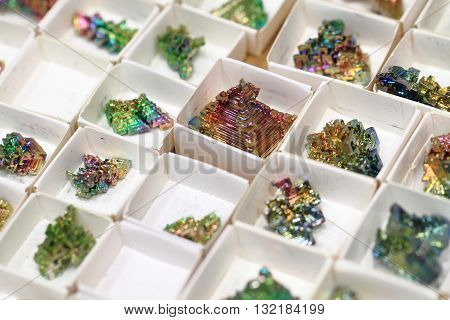 Bismuth Mineral Collection