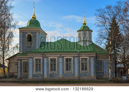 Effective Pokrov Church is located in the fortress of Lappeenranta. It founded in 1785.