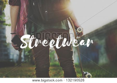 Streetwear Urban Style Skater Graphic Concept