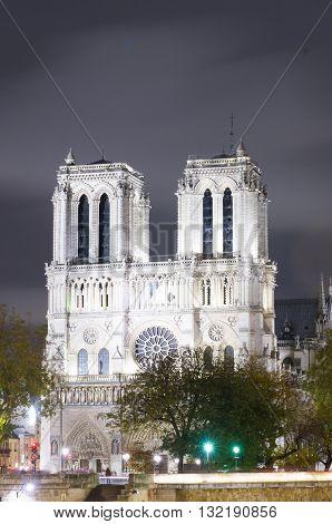 Notre Dame Cathedral, Paris, Ile De France, France..