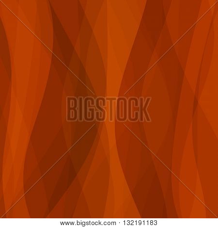Abstract red wave lines background. Vector abstract background