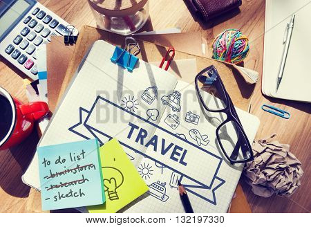 Traveling Destination Journey Holiday Concept