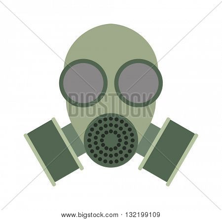 Respiratory protection mask vector illustration
