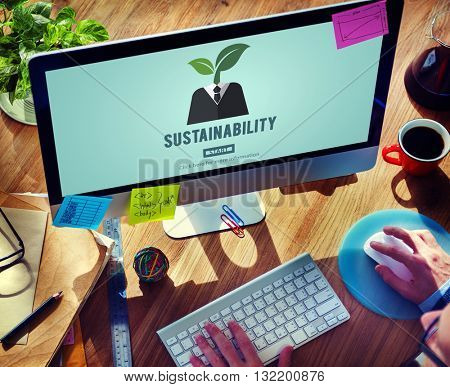 Sustainability Ecology Environmental Conservation Sustainable Concept