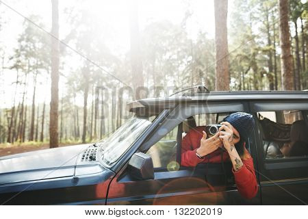 Roadtrip Adventure Activity Remote Exploration Concept